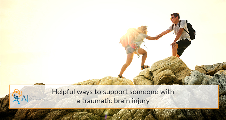 help someone with traumatic brain injury
