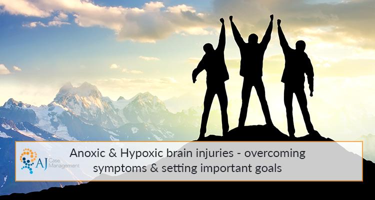 anoxic brain injury symptoms