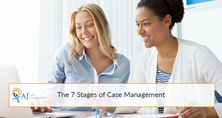 what are the stages of case management